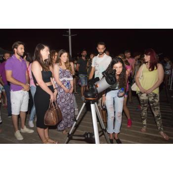 Αστροπαρατήρηση στον ουρανό της Λεμεσού.