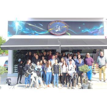 Επίσκεψη Ομίλου Αστρονομίας του Λυκείου Λινόπετρας